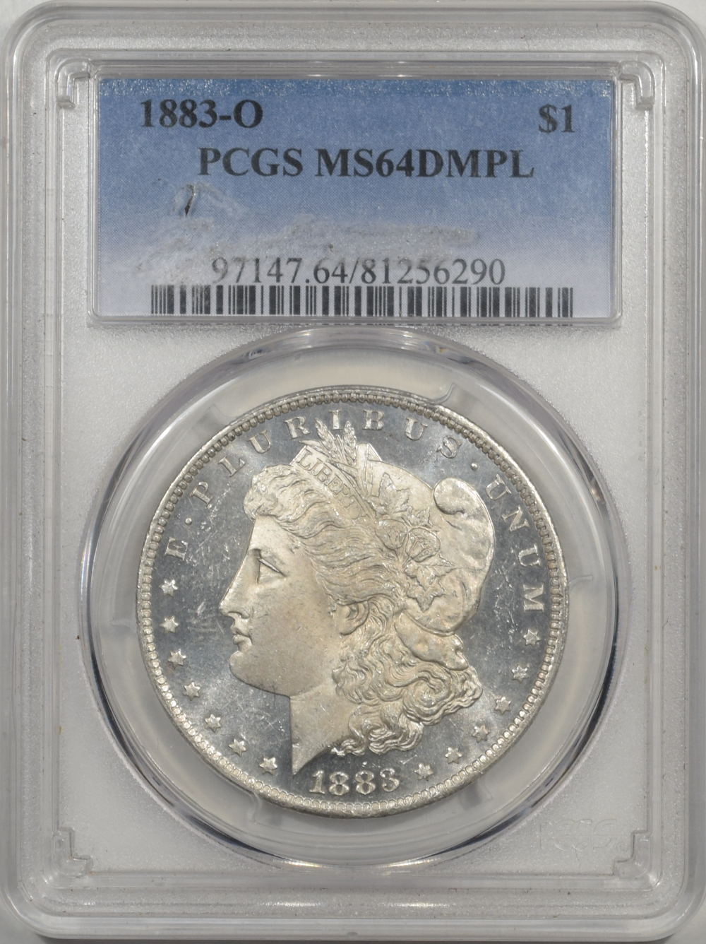 1883-O US Morgan Silver Dollar $1 PCGS MS64